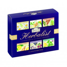 Coffret infusions - Herbalist - carton de 8
