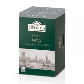 Thé noir Earl Grey - boite de 20 sachets - cartons de 6
