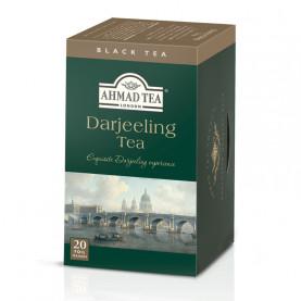Thé noir Darjeeling - boite de 20 sachets - cartons de 6