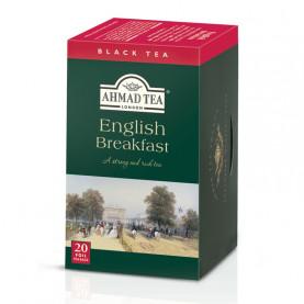 Thé noir English Breakfast - boite de 20 sachets - cartons de 6
