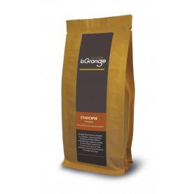 Cafe grain- Ethiopie l'origine moka sidamo- 5 sachets de 250g