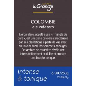 Etiquette silo à café - Colombie