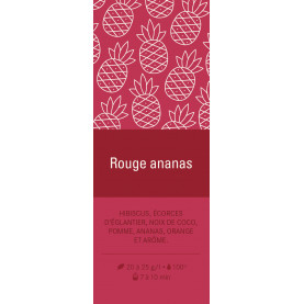 Aimant - Rouge Ananas