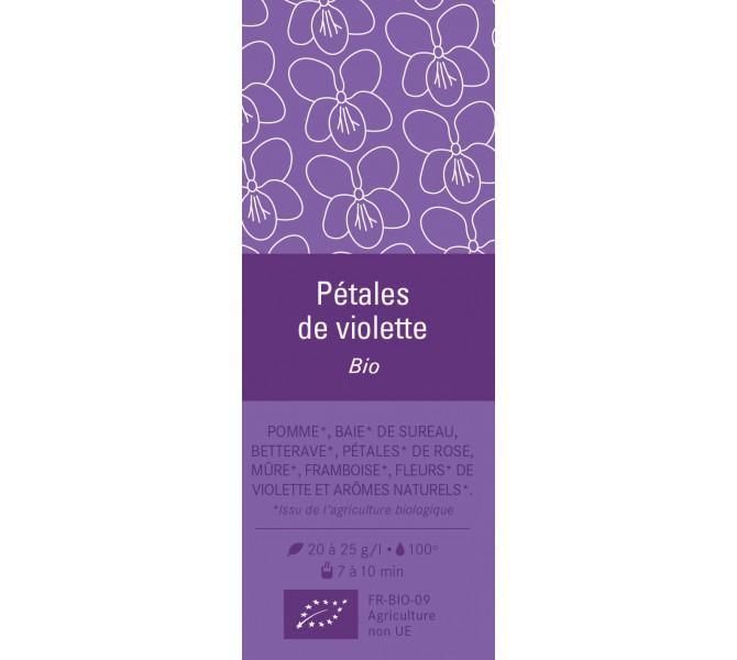 Aimant - Pétales de Violettes Bio