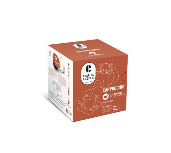 CAPS DOLCE GUSTO x16 Cappuccino - carton de 3 pochons