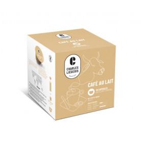 CAPS DOLCE GUSTO x16 Café au lait - carton de 3 pochons
