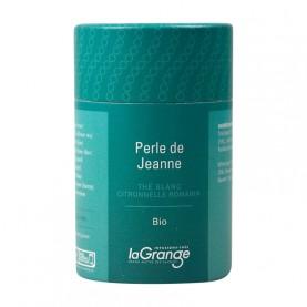 Boite cylindrique - 5x20g - Thé blanc - perle de Jeanne